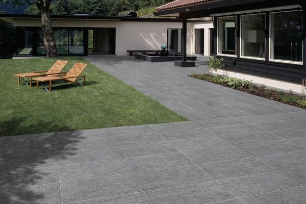 Stone effect tiles - Grey