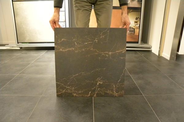 Marmor-Effekt Fliesen - Braunes melange