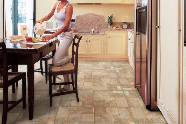 Stone effect tiles - beige