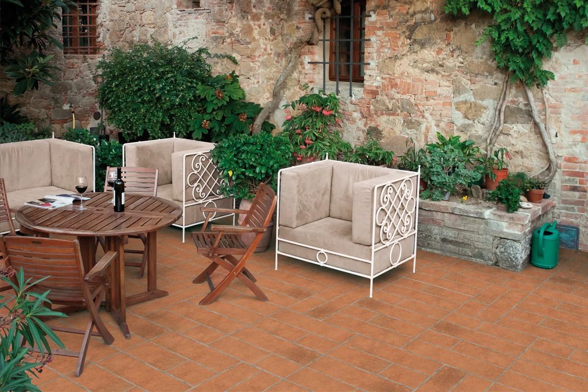 carrelage effet rustique cotto italiangres. Black Bedroom Furniture Sets. Home Design Ideas