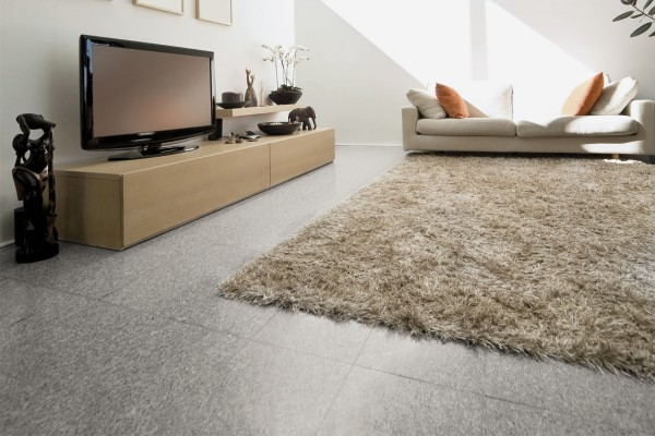 Stone effect tiles - grey