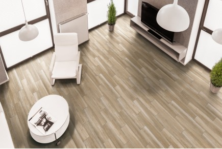 Wood effect floor tiles - Larch