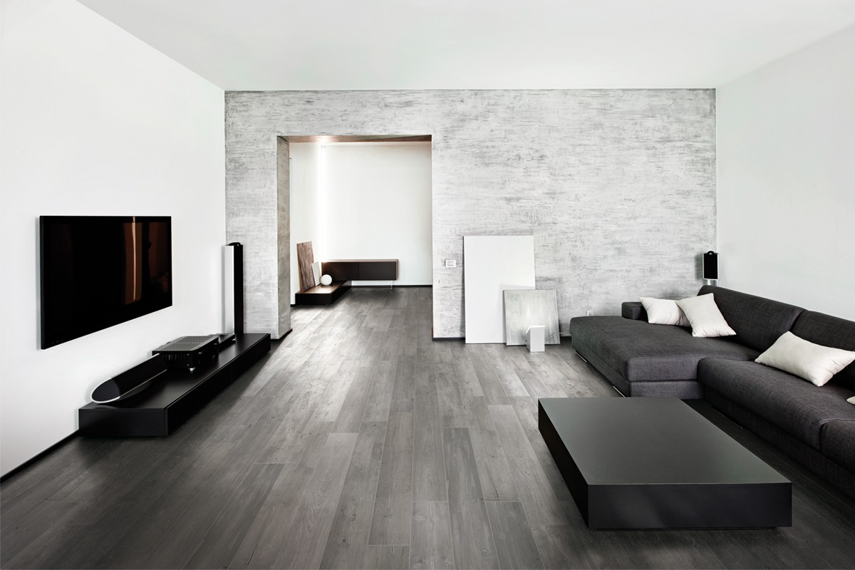 carrelage imitation parquet gris fum e italiangres. Black Bedroom Furniture Sets. Home Design Ideas