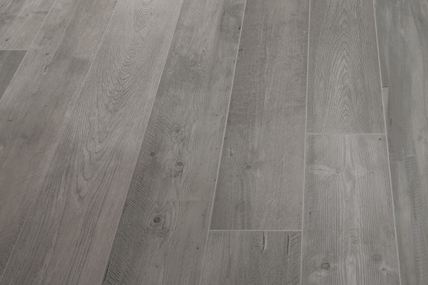 Wood effect floor tiles grey smoke