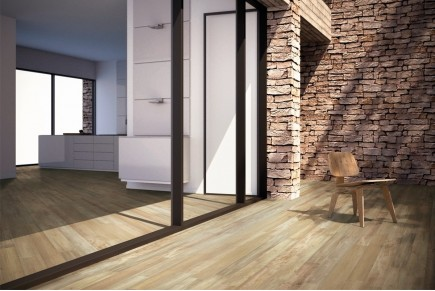 Holzoptik Feinsteinzeug - Eichenholz