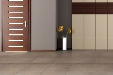 Concrete effect floor tiles - Hazel