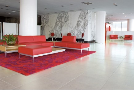Concrete effect floor tiles - Maxela