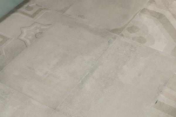 Zement-Effekt Feinsteinzeug - Taubengrau