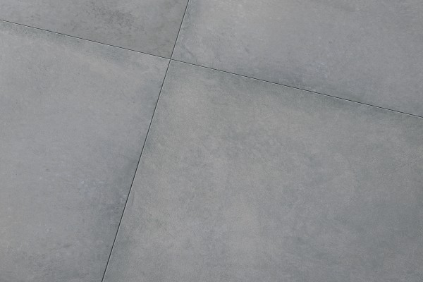 Concrete effect floor tiles dark grey italiangres for Piastrelle 40x40