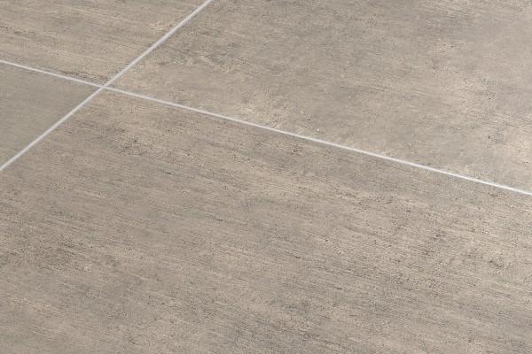 Concrete effect floor tiles - Dove grey