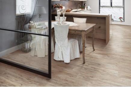 Wood effect floor tiles - Dove grey