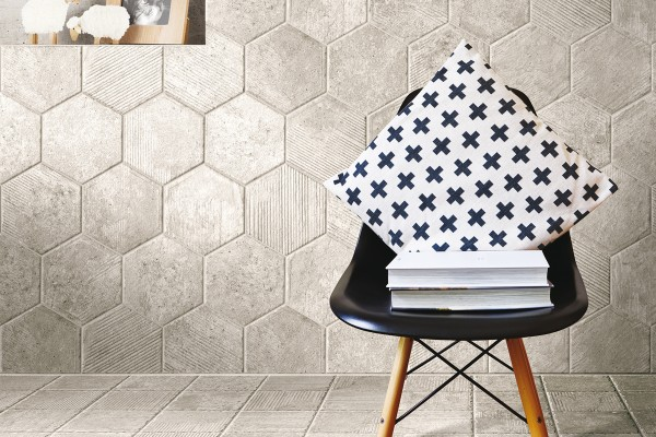 Rustical effect tiles - Canal