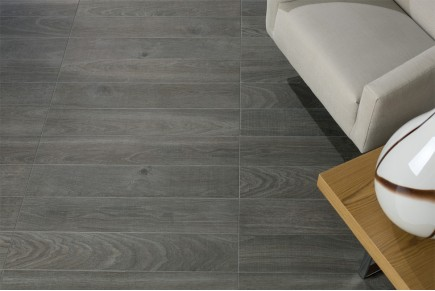 Wood effect porcelain stoneware - Ebony