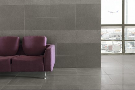 Concrete effect floor tiles - Marengo