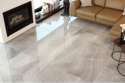 Marble effect tiles - Grey agatha
