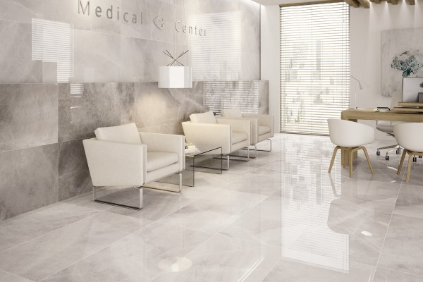 Gres porcellanato effetto marmo agata bianco pa 1201 for Mattonelle gres porcellanato lucido