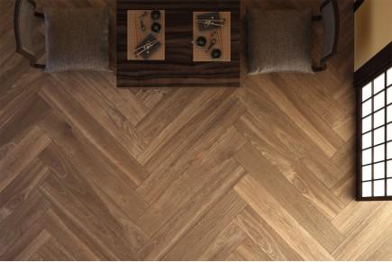 Gres porcellanato effetto legno castagno