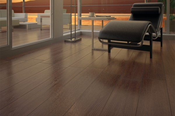 Wood effect porcelain stoneware - Elm