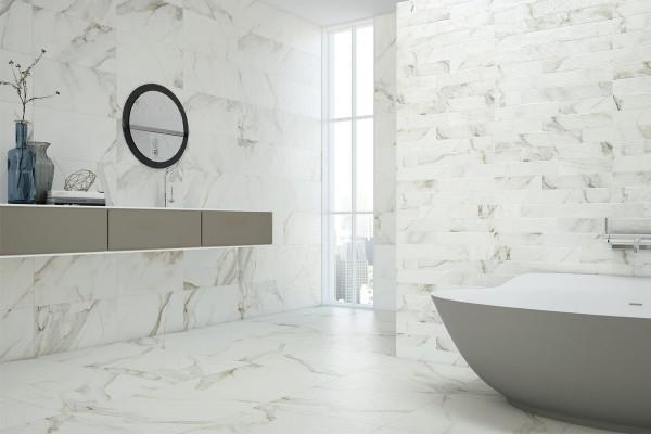 gr s c rame effet marbre calacatta cal 1200 60x120. Black Bedroom Furniture Sets. Home Design Ideas