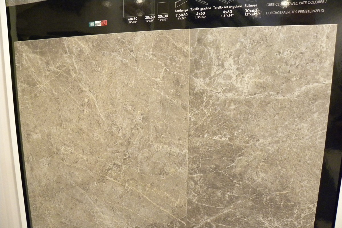 Marble effect tiles - Earth Grey - MA 7002 59,5X59,5 LAP RET
