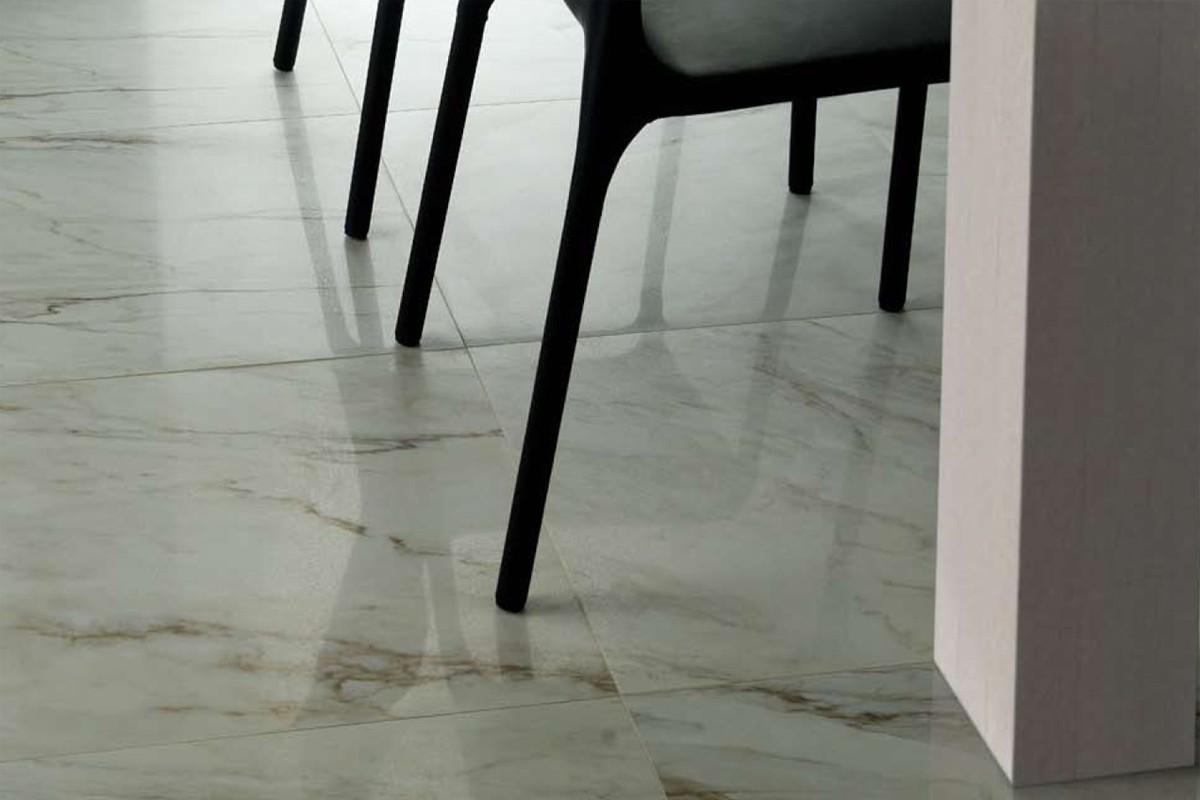 Gres porcellanato effetto marmo melange ghiaccio MA 7001 59.5X59.5 ...