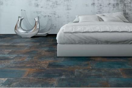 Metal effect tiles - Multicolor