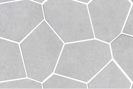 Revêtement concret gris clair
