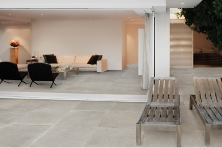 Sand concrete floor tiles