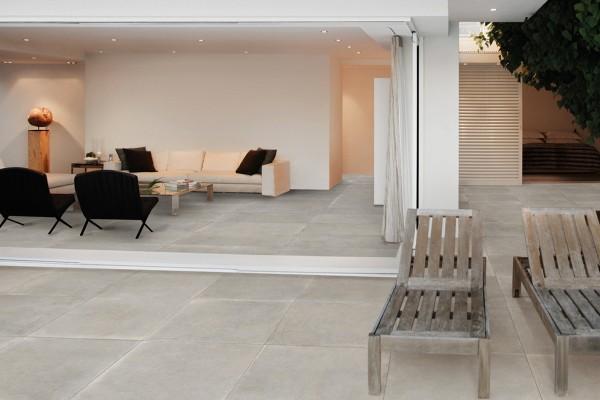 Sand concrete floor tiles