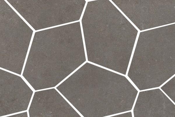 Wandfliesen Geometrisch Beton dark