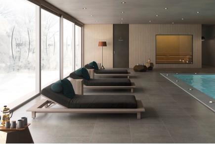 Olive concrete