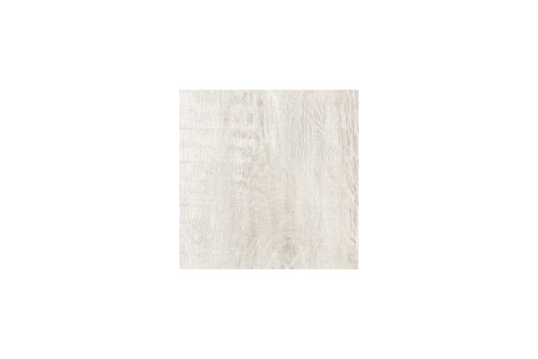 Wood effect floor tiles - White