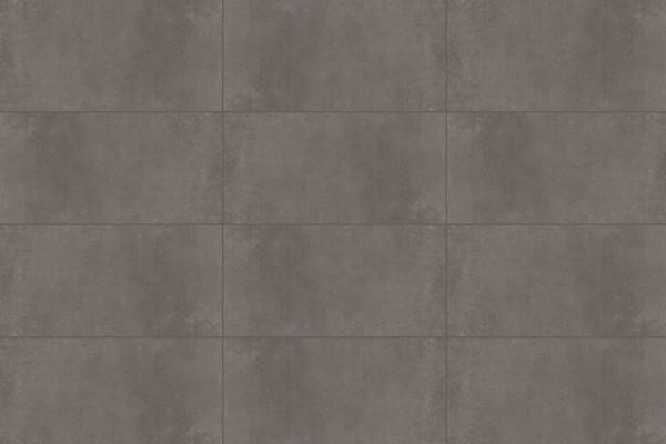 Concrete effect floor tiles - black
