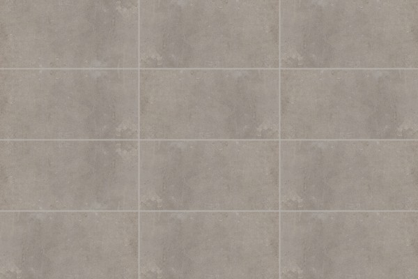 Concrete effect floor tiles - smoke