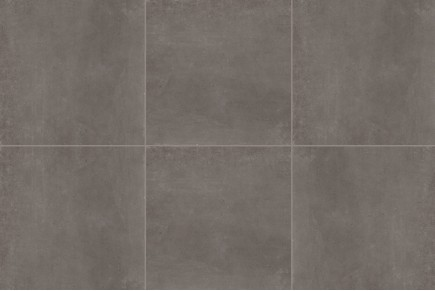 Dark concrete floor tiles