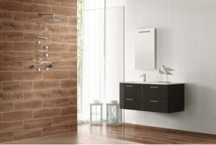Wood effect porcelain stoneware - Cedar