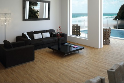 Wood effect porcelain stoneware - Sequoia