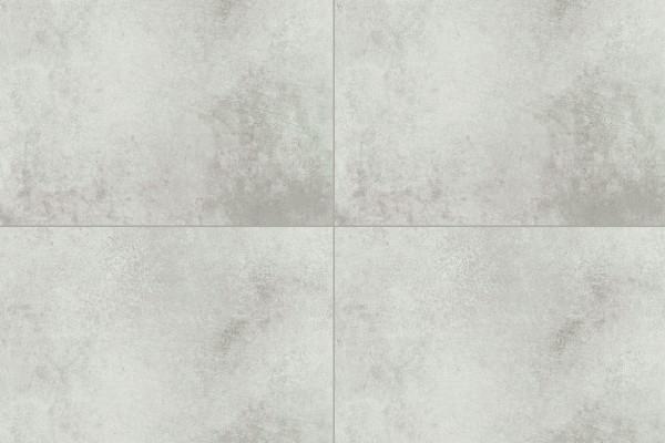 Concrete effect floor tiles stencil