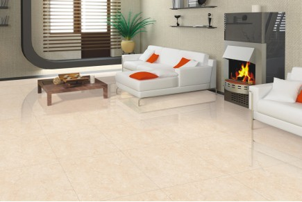 Marble effect tiles - Midas cream