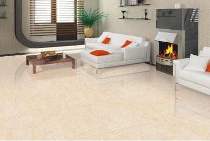 Marble effect tiles - Midas cream