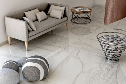 Glossy marble Gold
