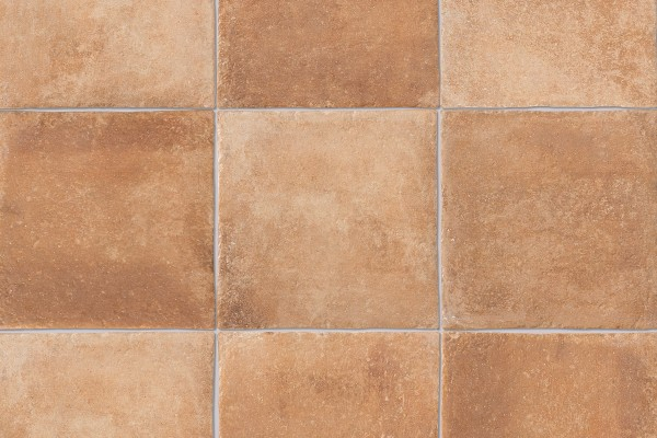 Terracotta effect floor tiles - Graphite