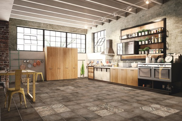 Dark grey rustic