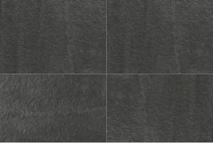 Gres porcellanato effetto pietra nero