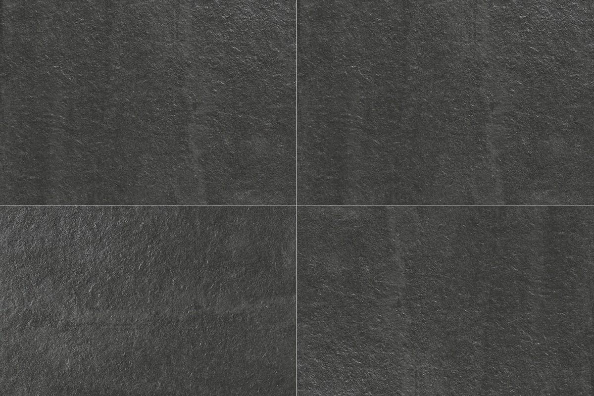 Black Slate Effect Floor Tiles Carpet Vidalondon