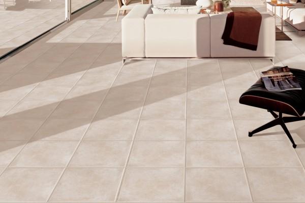 Rustical effect tiles - Beige