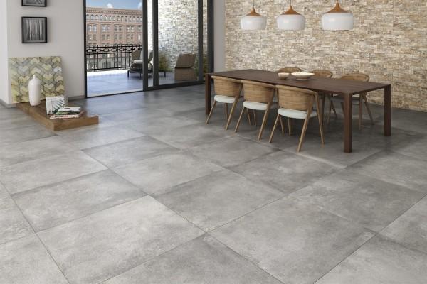 Grey concrete
