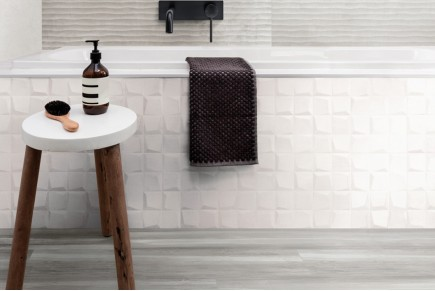 Decoro 'Cube' White