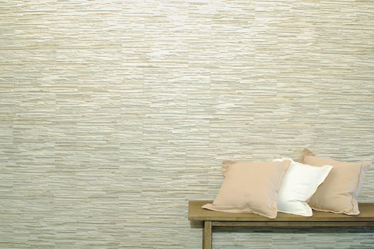 Carrelage imitation pierre - Piana Cenere 16x42 Ceramiche Fenice