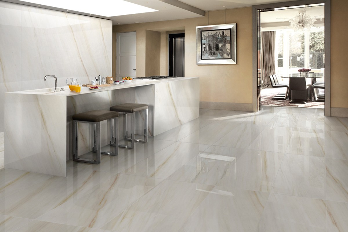 Gold Vein Marble Color Body Porcelain Stoneware Lapped Polished